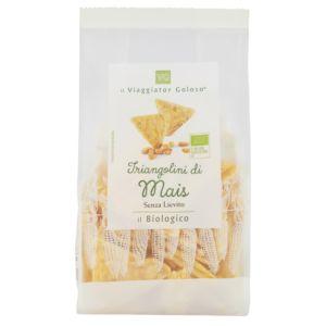 Triangolini di mais senza lievito
