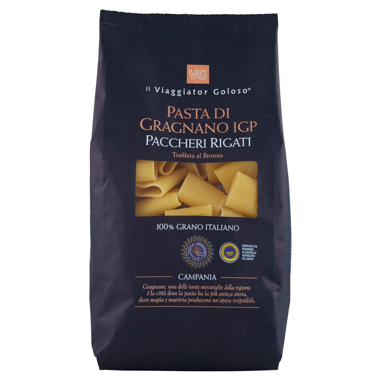 Paccheri rigati pasta di Gragnano IGP