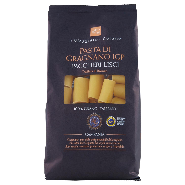 Paccheri lisci pasta di Gragnano IGP