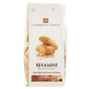 Sesamini biscotti croccanti