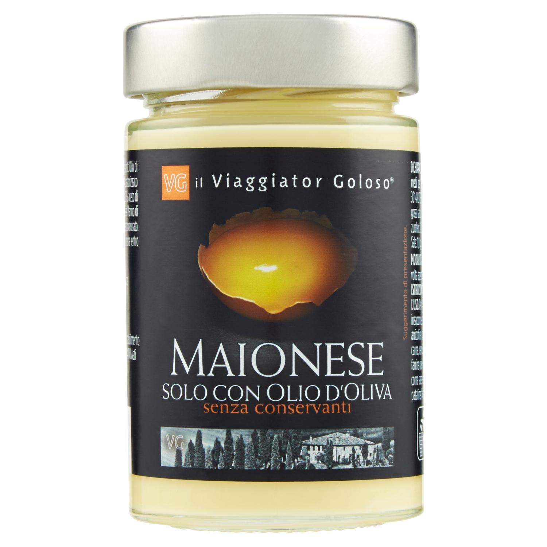 Maionese solo con olio d'oliva senza conservanti