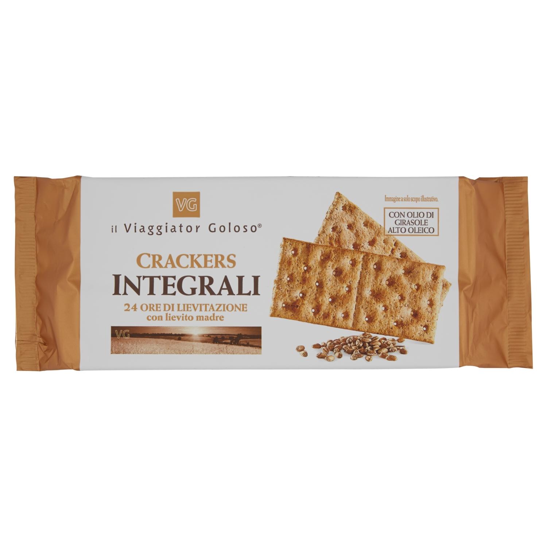Crackers integrali 24 ore di lievitazione con lievito madre