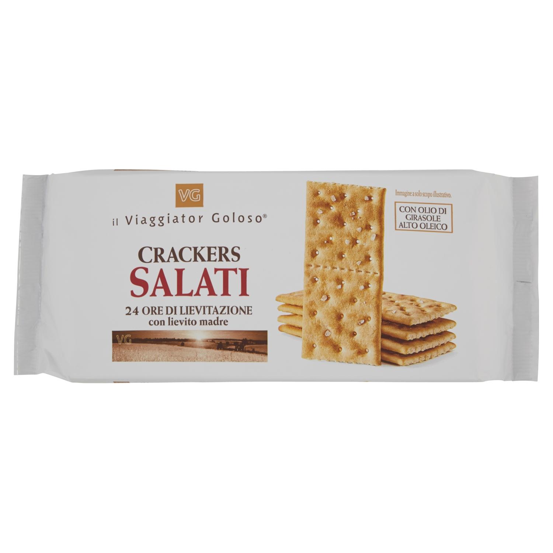 Crackers salati 24 ore di lievitazione con lievito madre