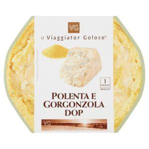 Polenta e gorgonzola DOP