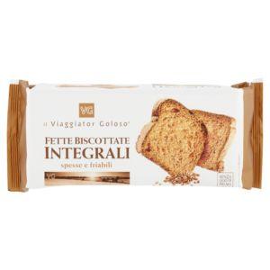 Fette biscottate integrali spesse e friabili