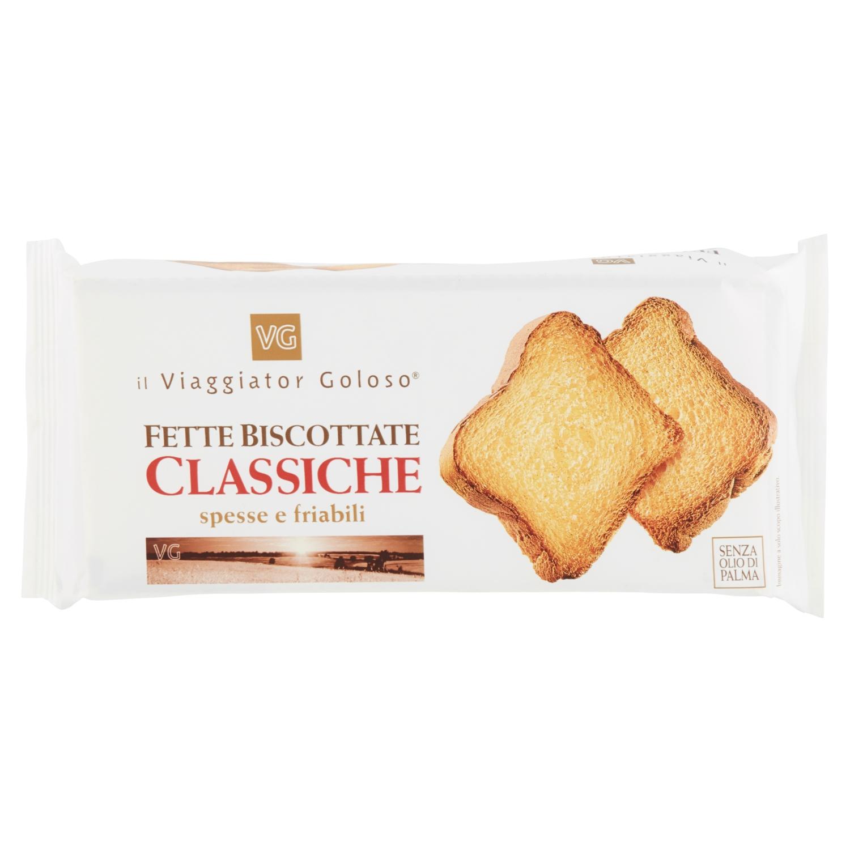 Fette biscottate classiche spesse e friabili