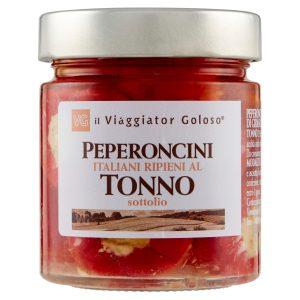Peperoncini italiani ripieni con tonno