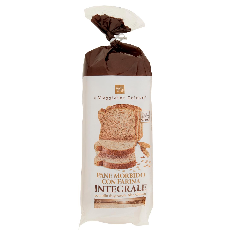 Pane morbido integrale a fette