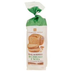 Pane morbido 8 cereali e soia a fette