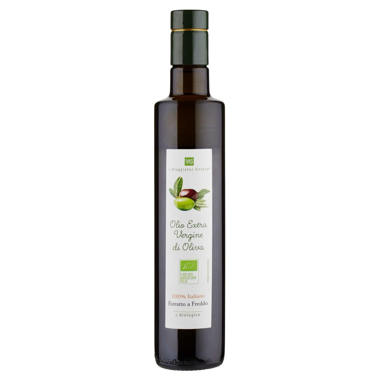 Olio extravergine di oliva 100% italiano estratto a freddo il Biologico, 50Cl
