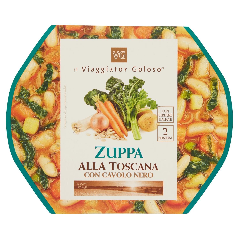 Zuppa alla toscana con cavolo nero, 620G