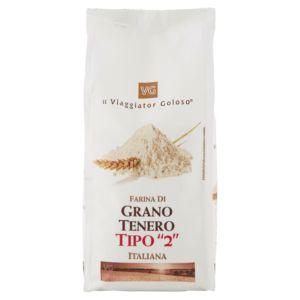 """Farina di grano tenero tipo """"2"""" italiana"""
