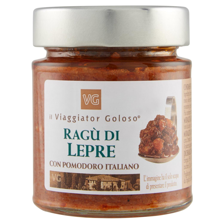 Ragù di lepre con pomodoro italiano