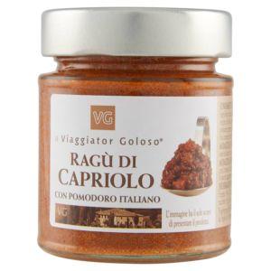 Ragù di capriolo con pomodoro italiano