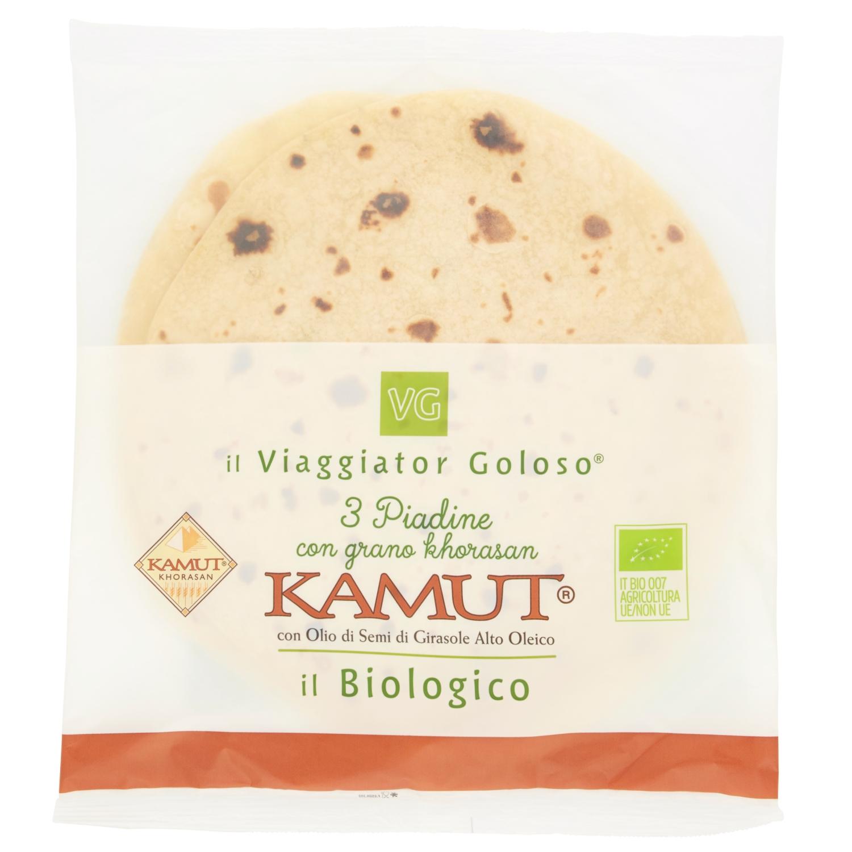3 Piadine con grano khorasan kamut il Biologico
