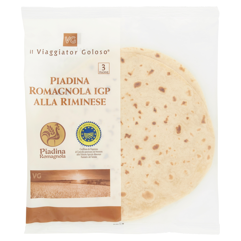 Piadina romagnola IGP alla riminese