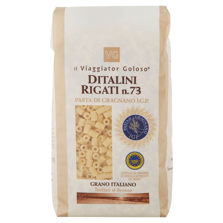 Ditalini rigati n.73 pasta di Gragnano IGP