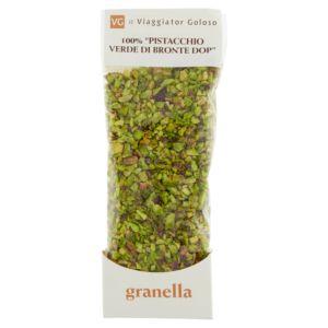 100% pistacchio verde di Bronte DOP granella