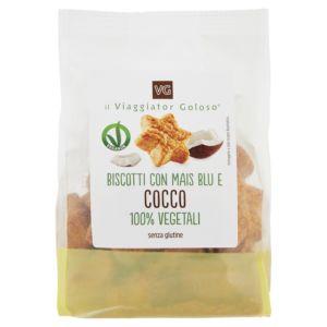 Biscotti con mais blu e cocco 100% vegetale