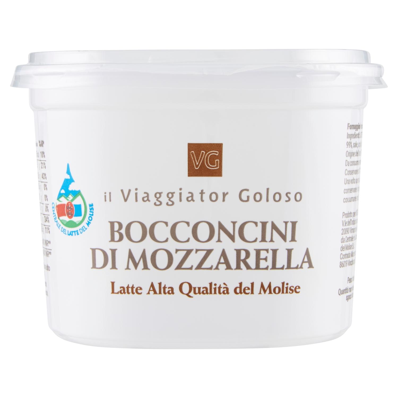 Bocconcini di mozzarella alta qualità del Molise
