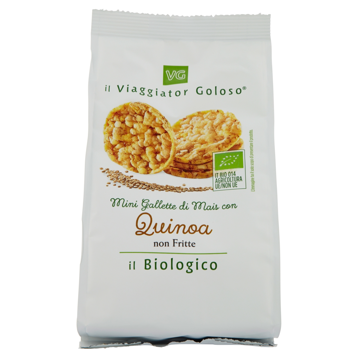 Mini gallette di mais con quinoa il Biologico