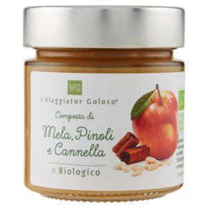 Composta di mela, pinoli e cannella il Biologico