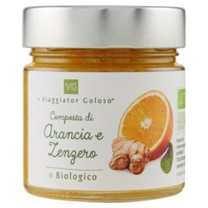 Composta di arancia e zenzero il Biologico