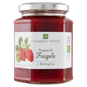 Composta di fragole Bio