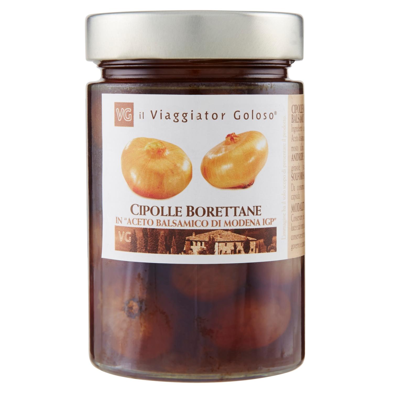 Cipolle borettane in aceto balsamico di Modena IGP