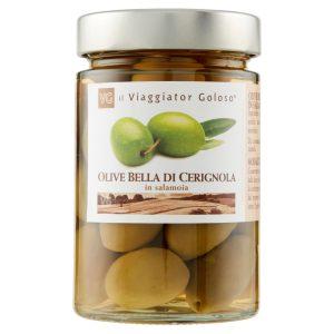 Olive Bella di Cerignola in salamoia