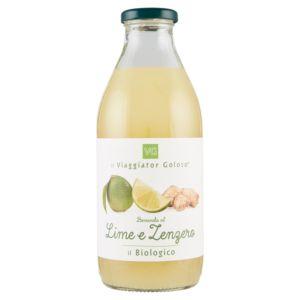 Bevanda al lime e zenzero il Biologico