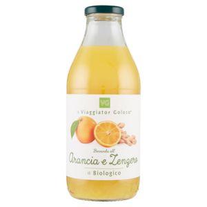 Bevanda all'arancia e zenzero il Biologico