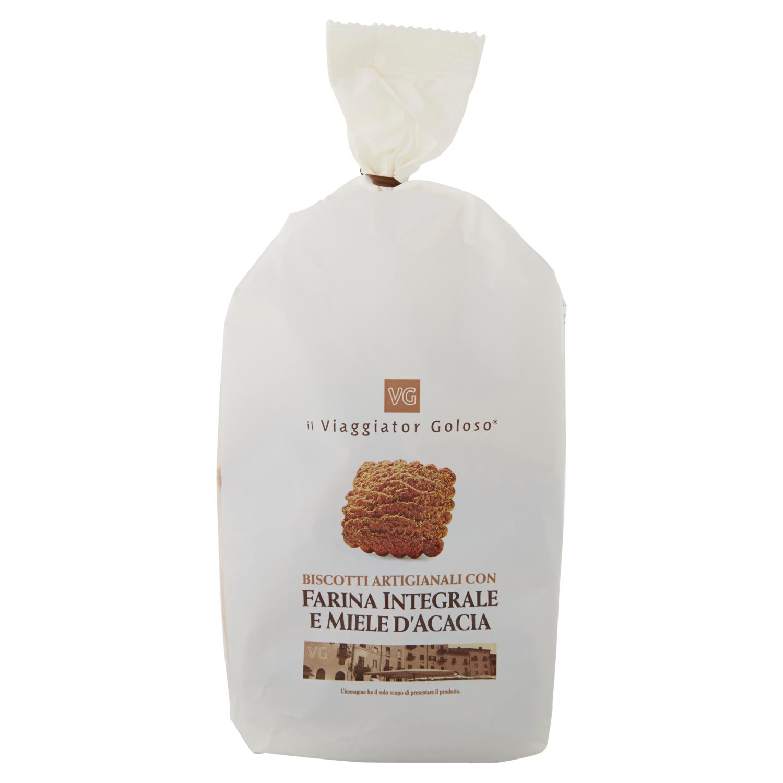 Biscotti artigianali con farina integrale e miele d'acacia