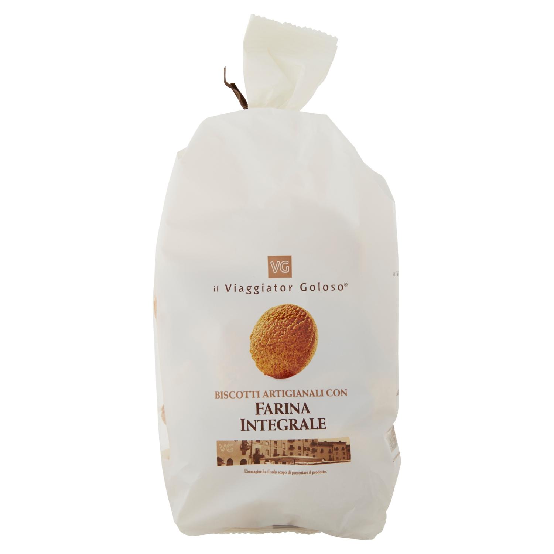 Biscotti artigianali con farina integrale