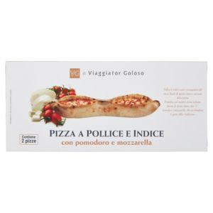 Pizza a pollice e indice – il Viaggiator Goloso