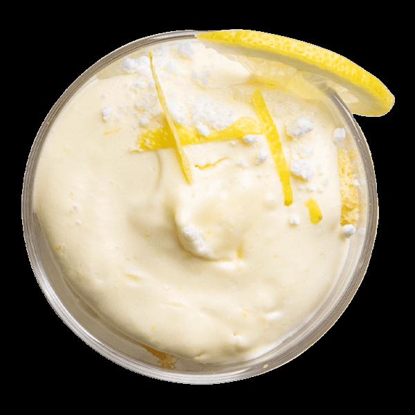Tiramisù al limone monoporzione