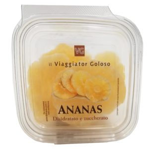 Ananas disidratato e zuccherato
