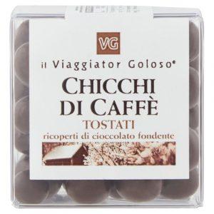 Chicchi di caffè cioccolato