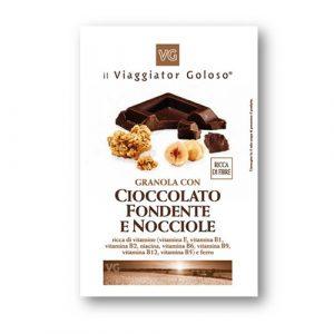 Granola con Cioccolato Fondente e Nocciole
