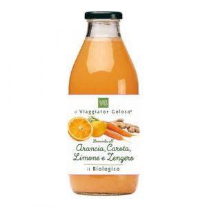 Arancia, Carote, Limone e Zenzero il Biologico