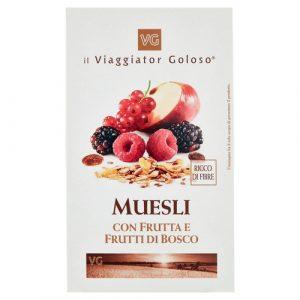 Muesli con Frutta e Frutti di Bosco