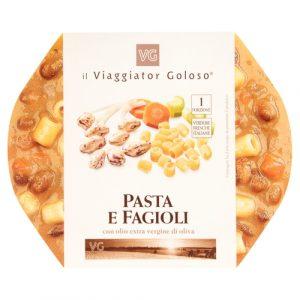 Pasta e fagioli con olio extravergine di oliva