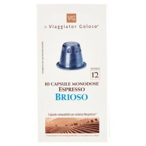 10 Capsule Monodose Espresso Brioso